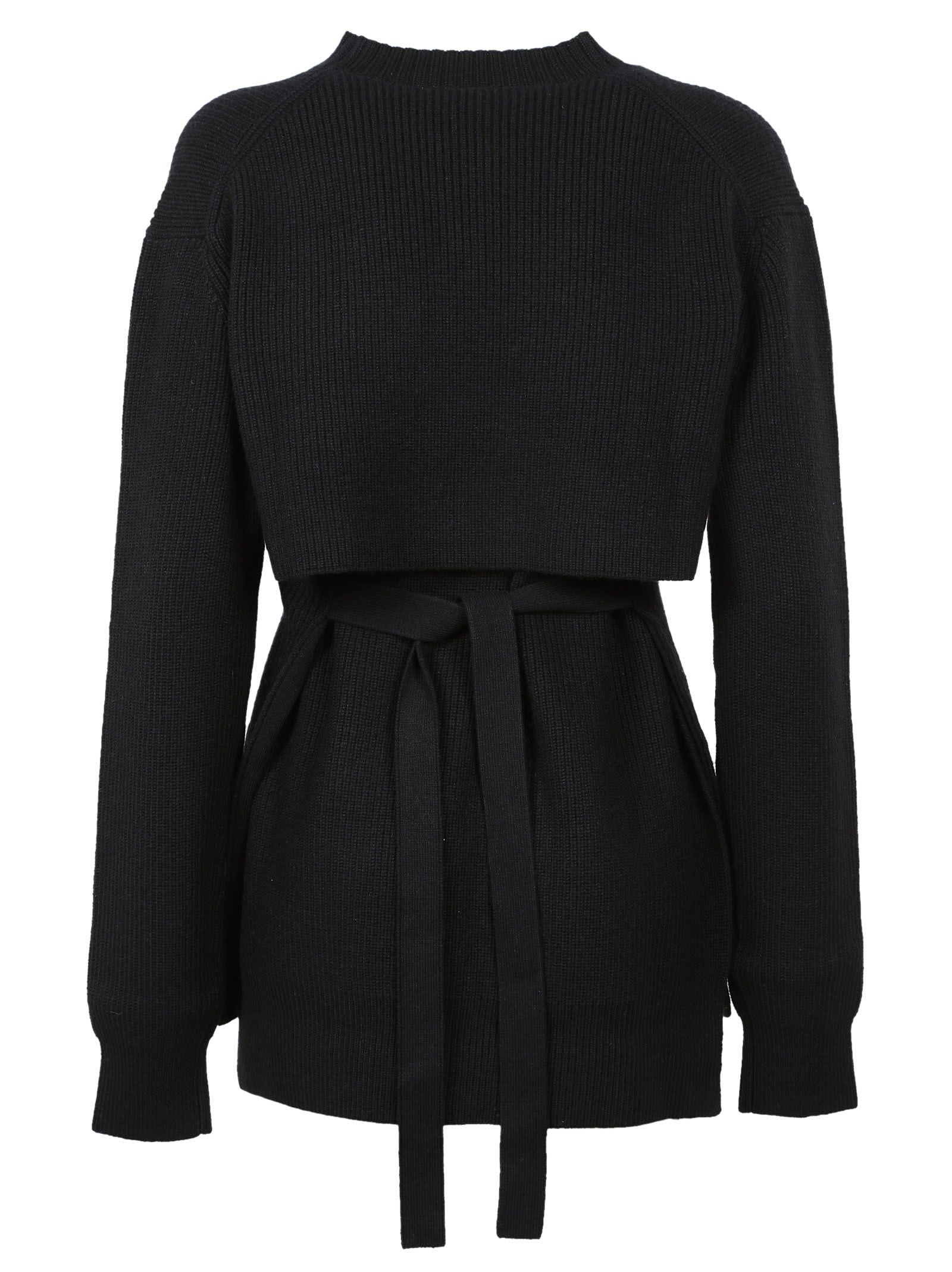Proenza Schouler - Proenza Schouler Ribbed Sweater - Black ...