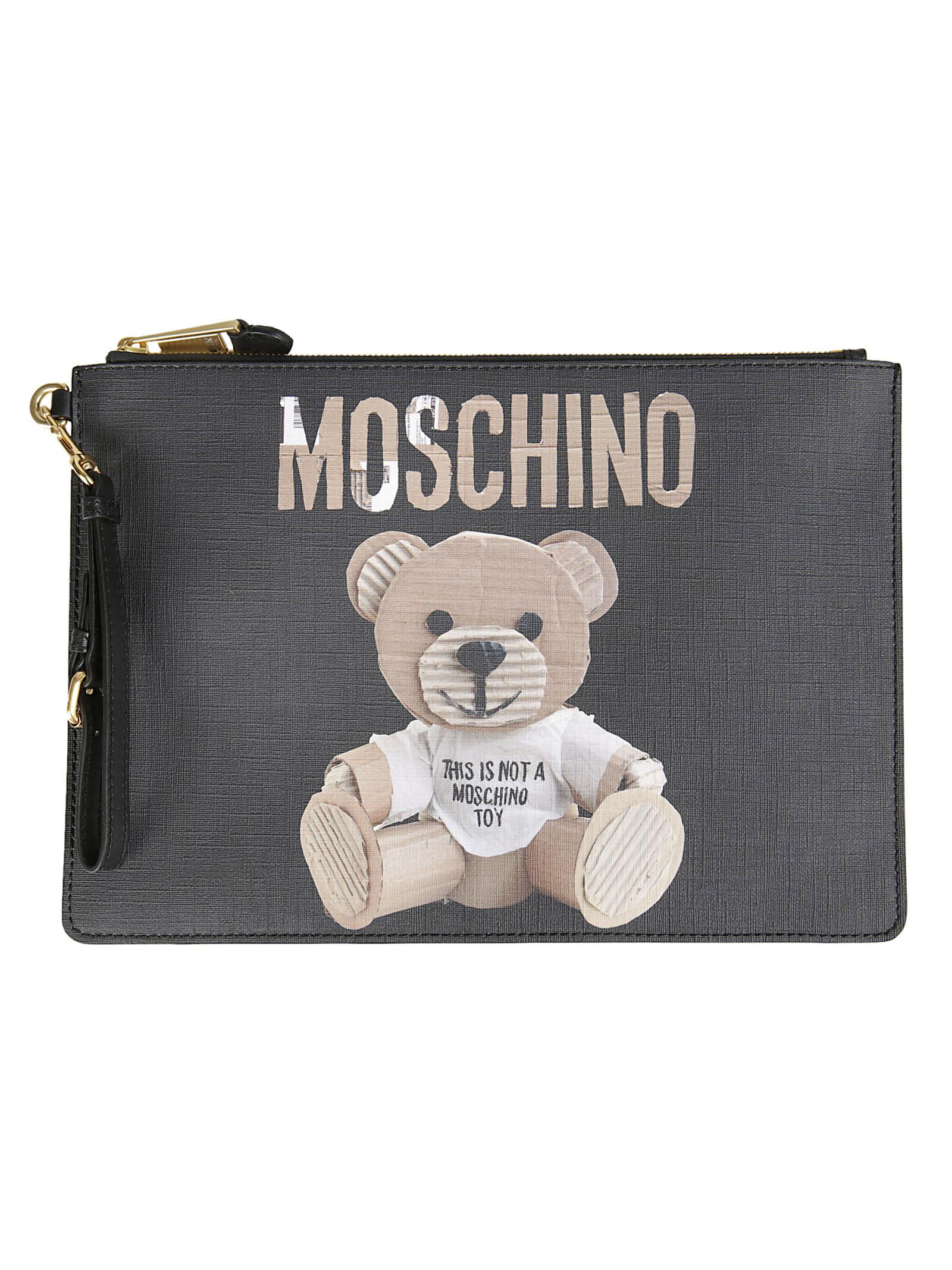 Moschino Teddy Bear Clutch