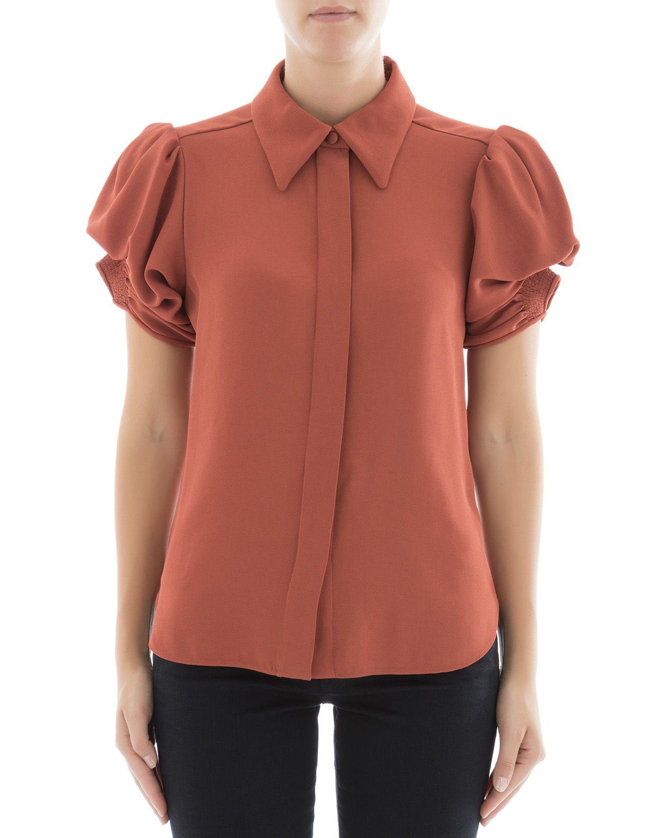 Red Viscose Shirt