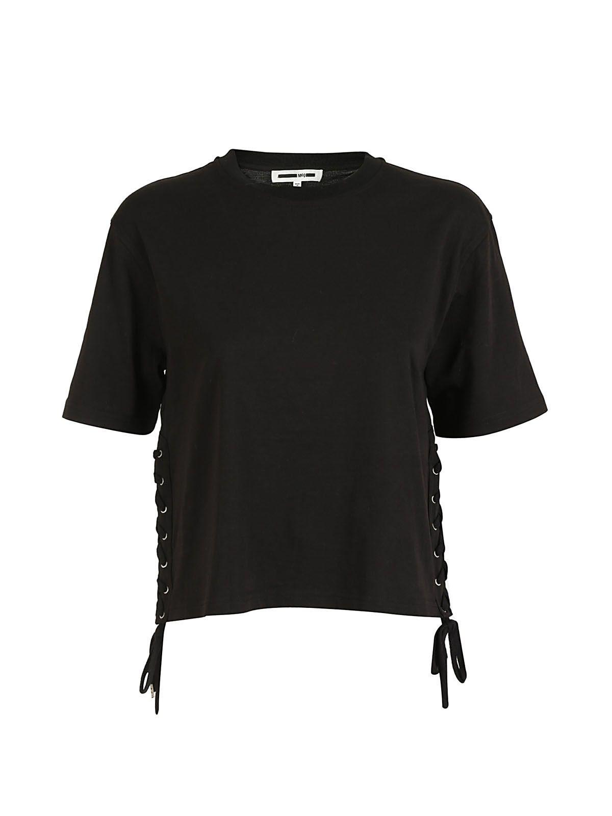 Mcq Alexander Mcqueen Eyelet Detail T-shirt