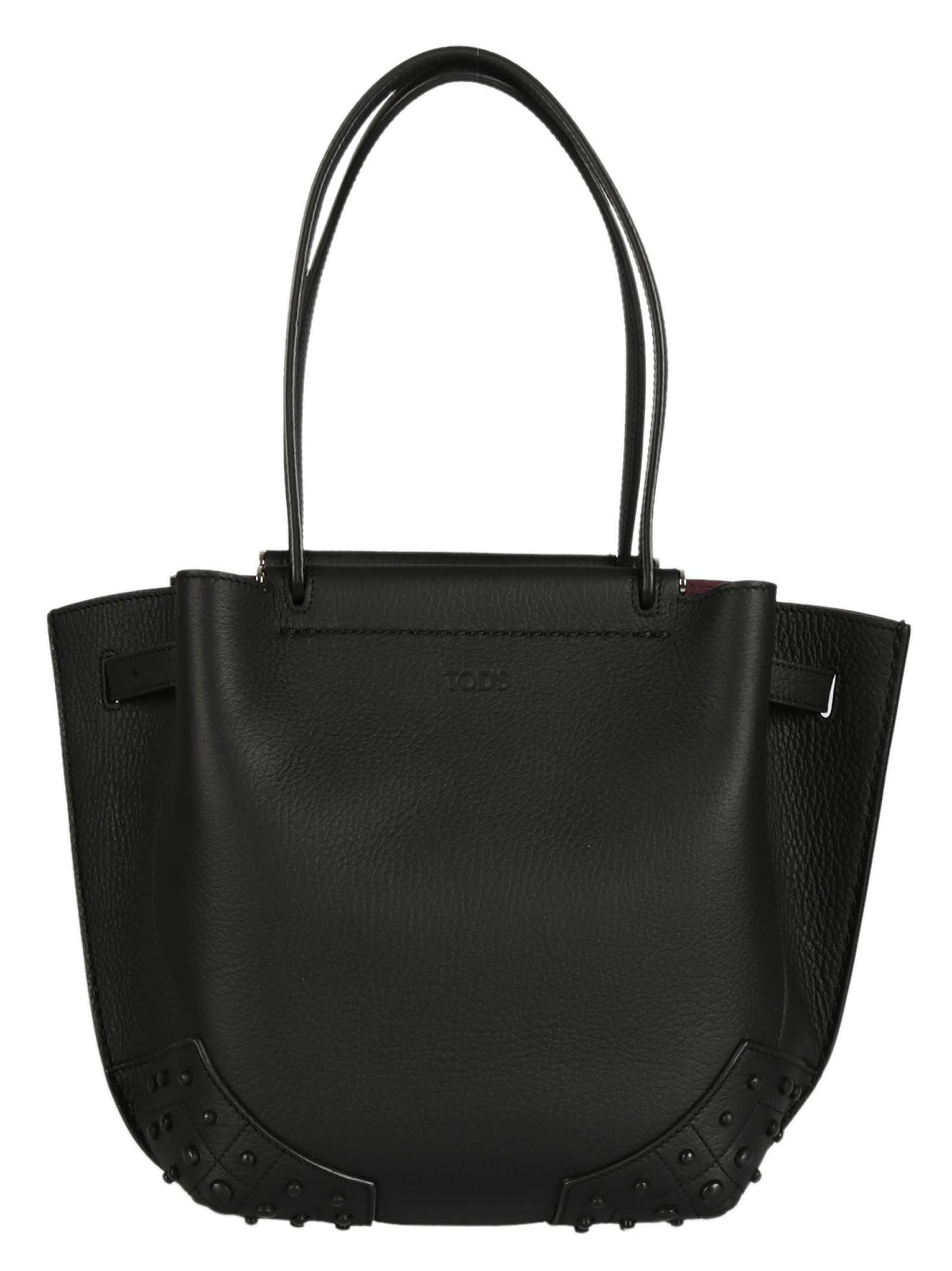 Tods Studded Shopper Bag