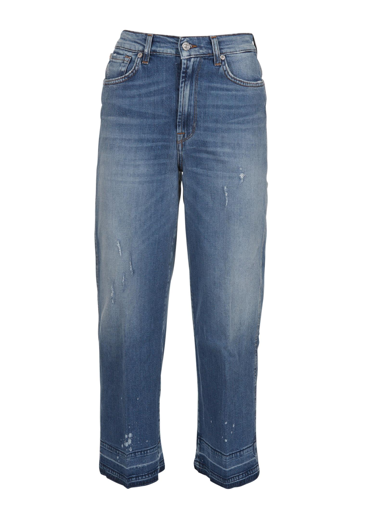 7 For All Mankind Marnie Unrolled Jeans