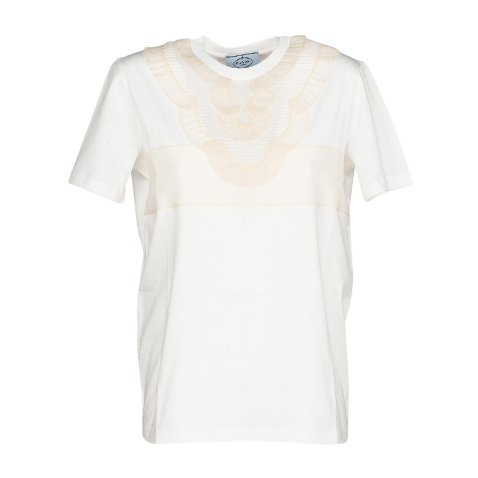 Prada Embroidered T-shirt
