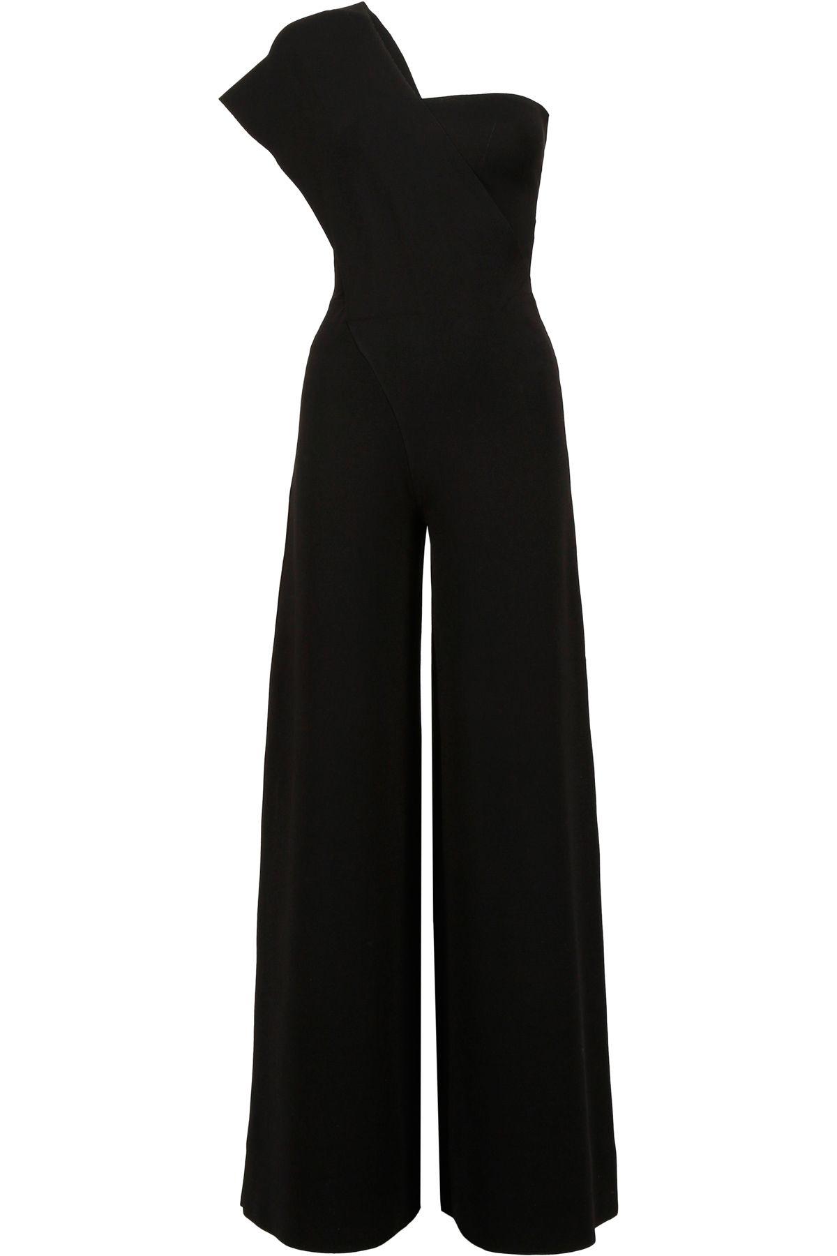 Knit One-shoulder Jumpsuit