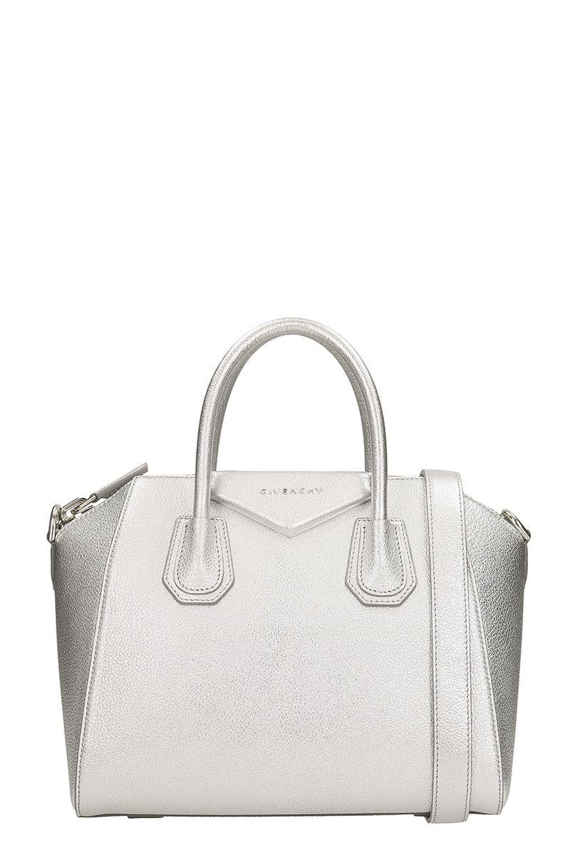 Givenchy Silver Antigona Bag