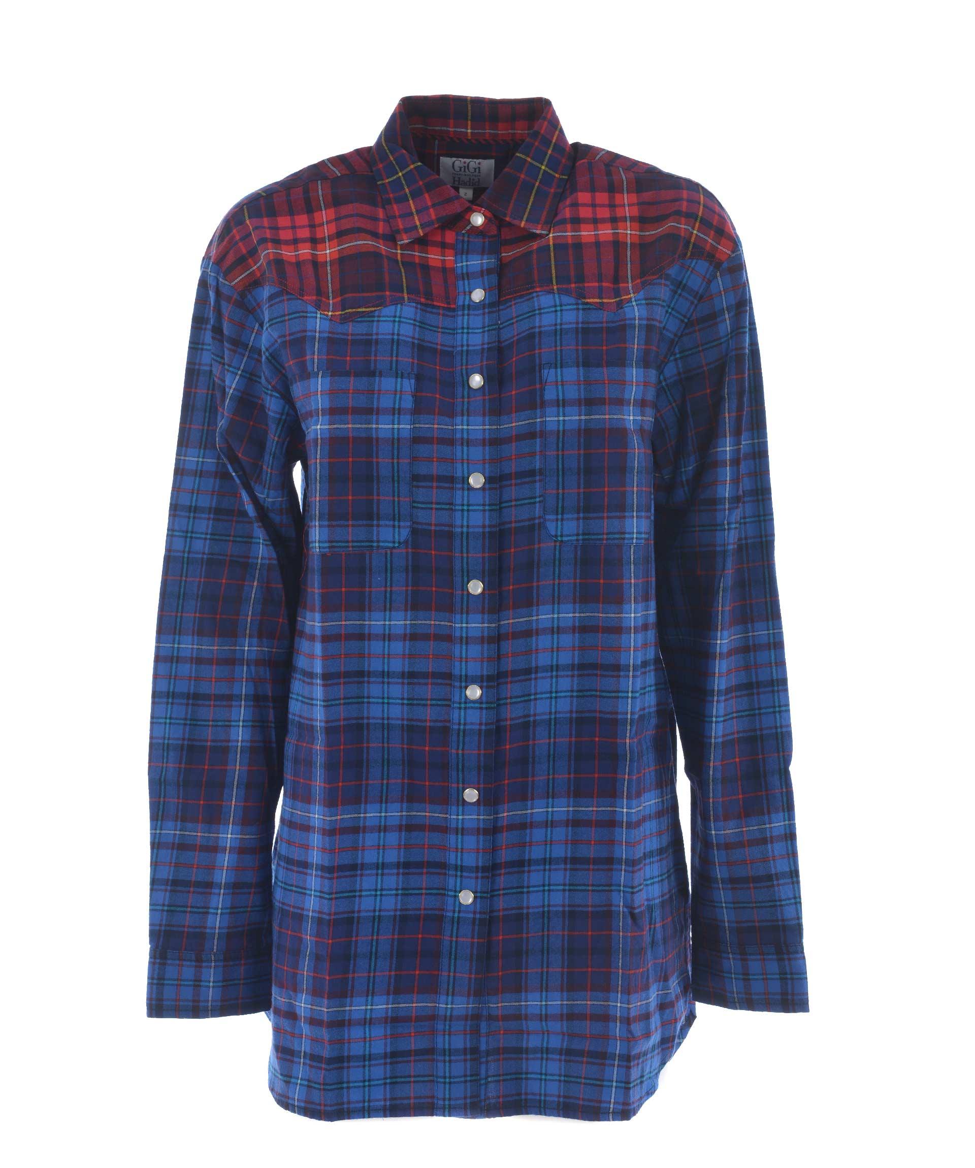 Tommy X Gigi Hadid Checked Shirt