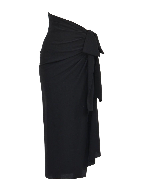 Saint Laurent Asymmetric Draped Skirt