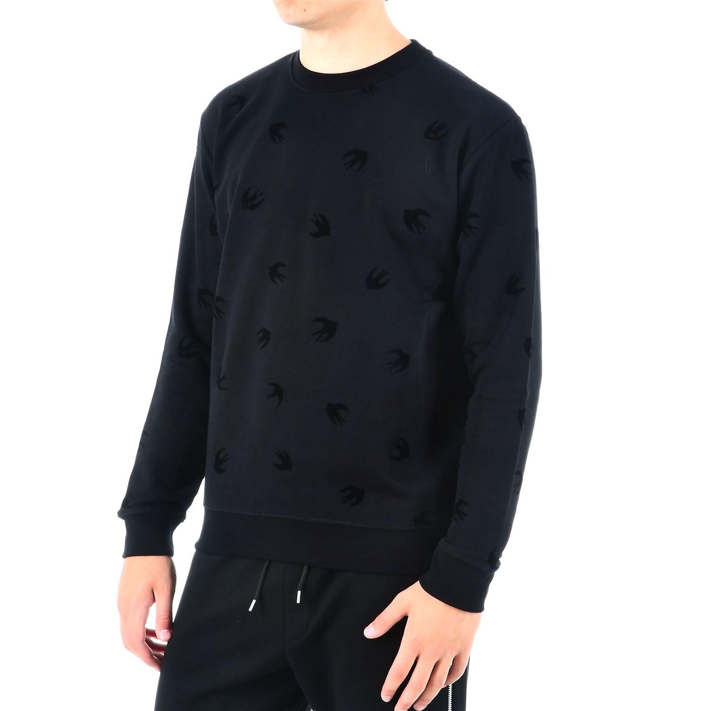 mcq alexander mcqueen mcq alexander mcqueen mcq sweatshirt black men 39 s fleeces italist. Black Bedroom Furniture Sets. Home Design Ideas