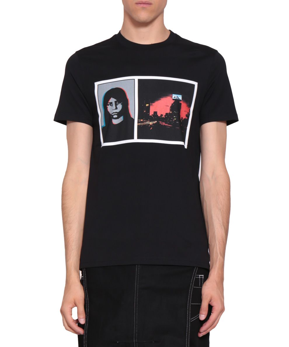 Givenchy cuban fit photographic print cotton t shirt in Givenchy t shirt price