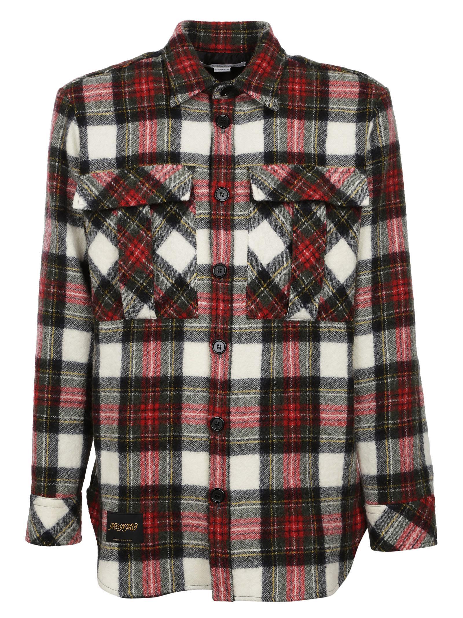 Stella Mccartney Plaid Flannel Shirt