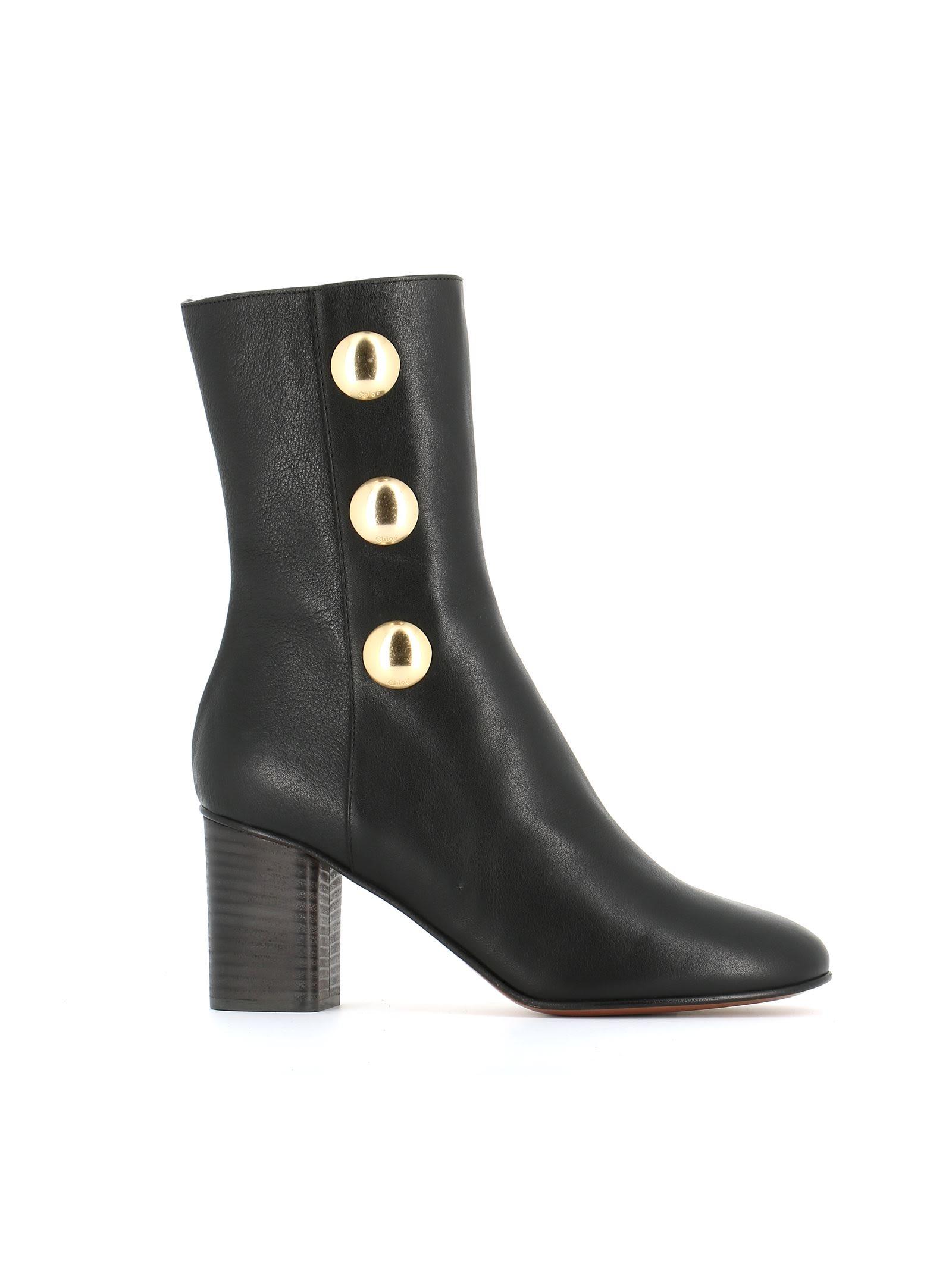 chlo chlo orlando boots black women 39 s boots italist. Black Bedroom Furniture Sets. Home Design Ideas
