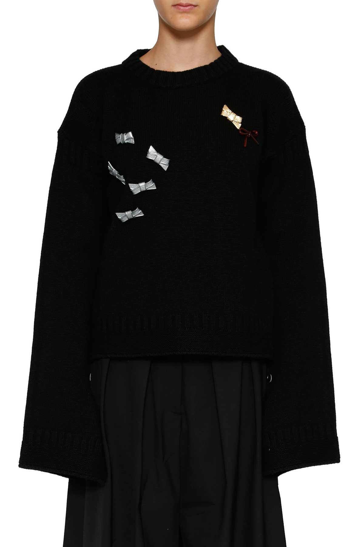 J.w. Anderson Bow Detail Jumper