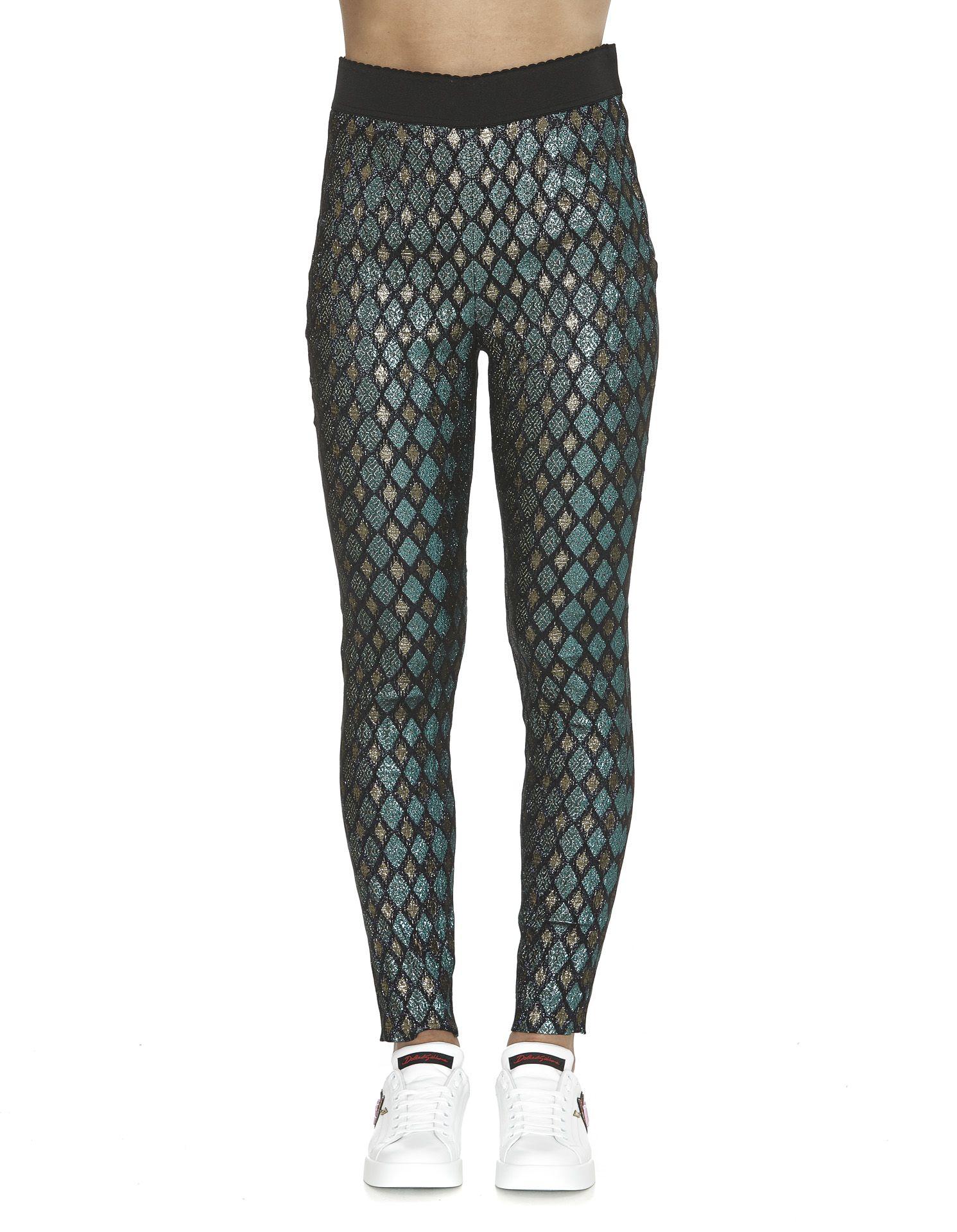Dolce & Gabbana Jacquard Trousers