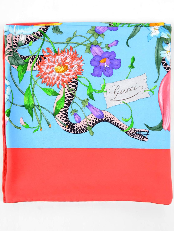 Gucci Floral Snake 90x90 Foulard