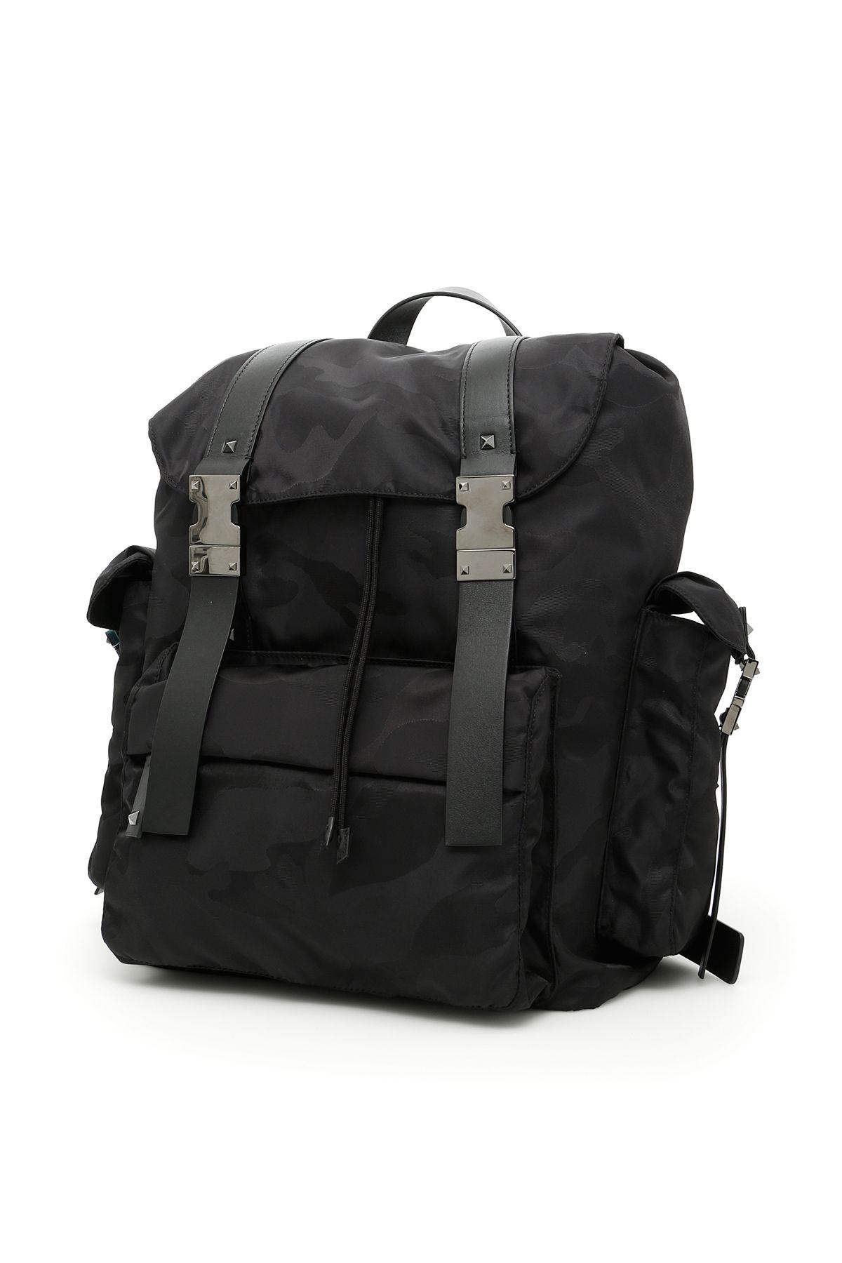 Jacquard Camouflage Backpack