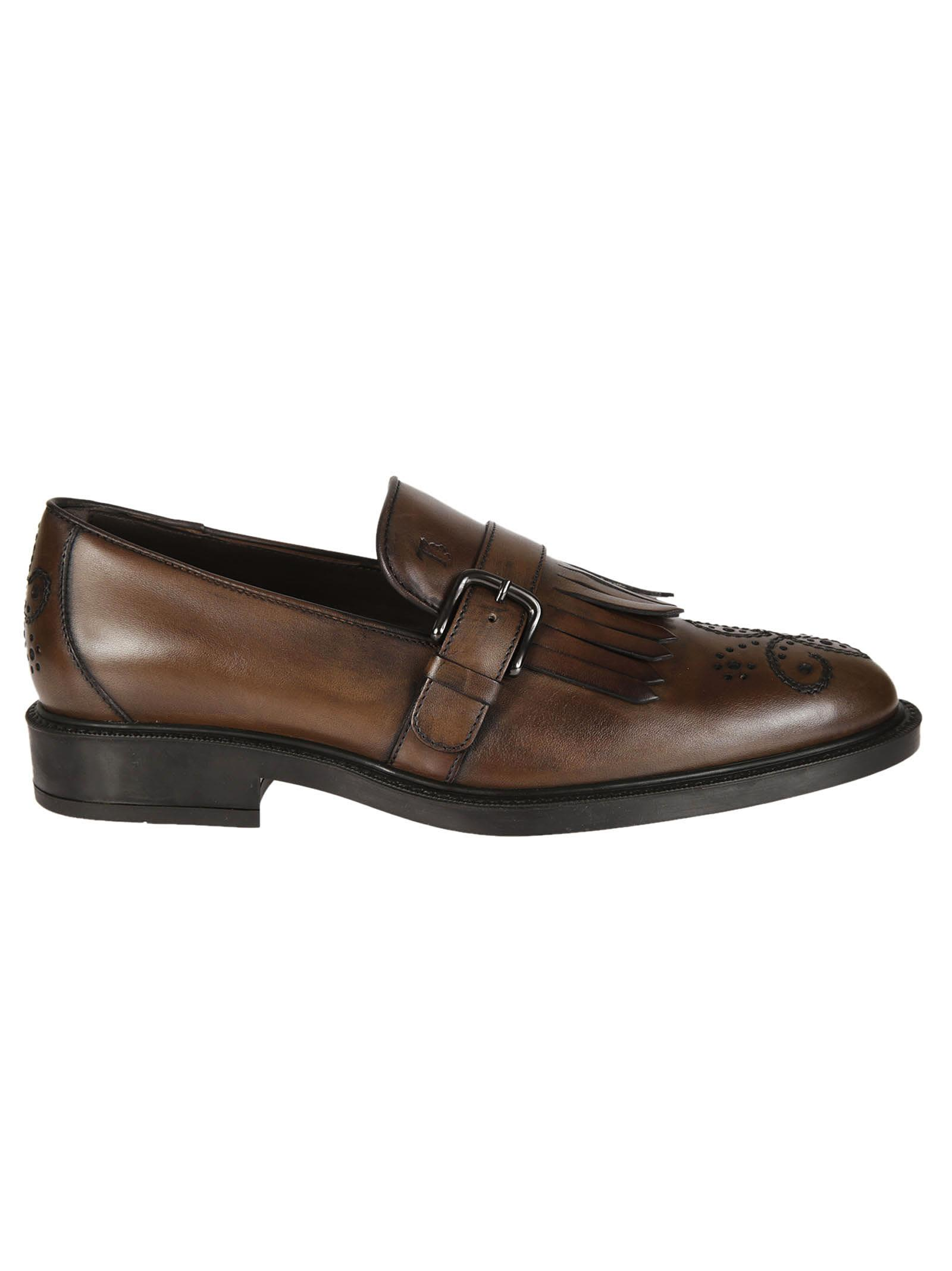 Tods Fringed Monk Shoes