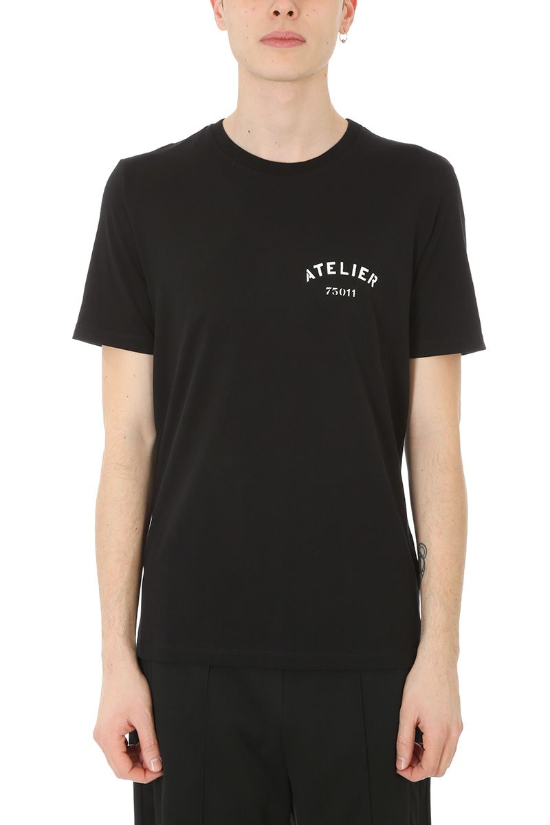 Maison Margiela Atelier Black Cotton T-shirt