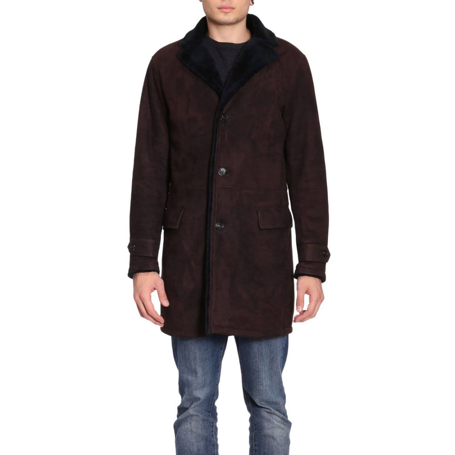Coat Coat Men Ermenegildo Zegna