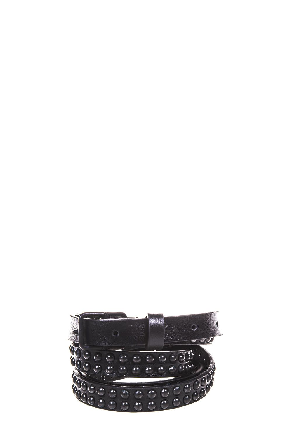Dsquared2 Studded Leather Belt