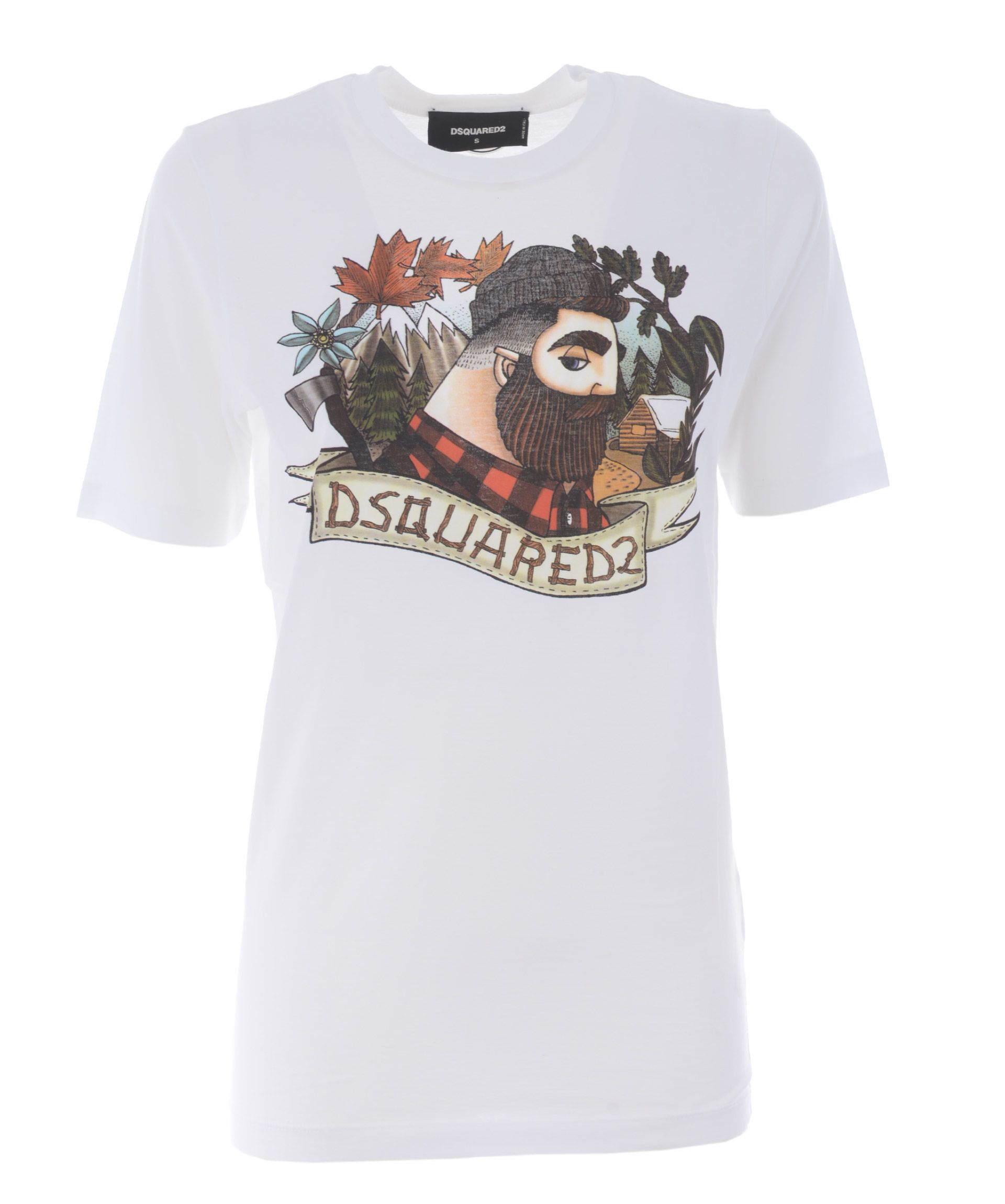 Dsquared2 Lumberjack Print T-shirt