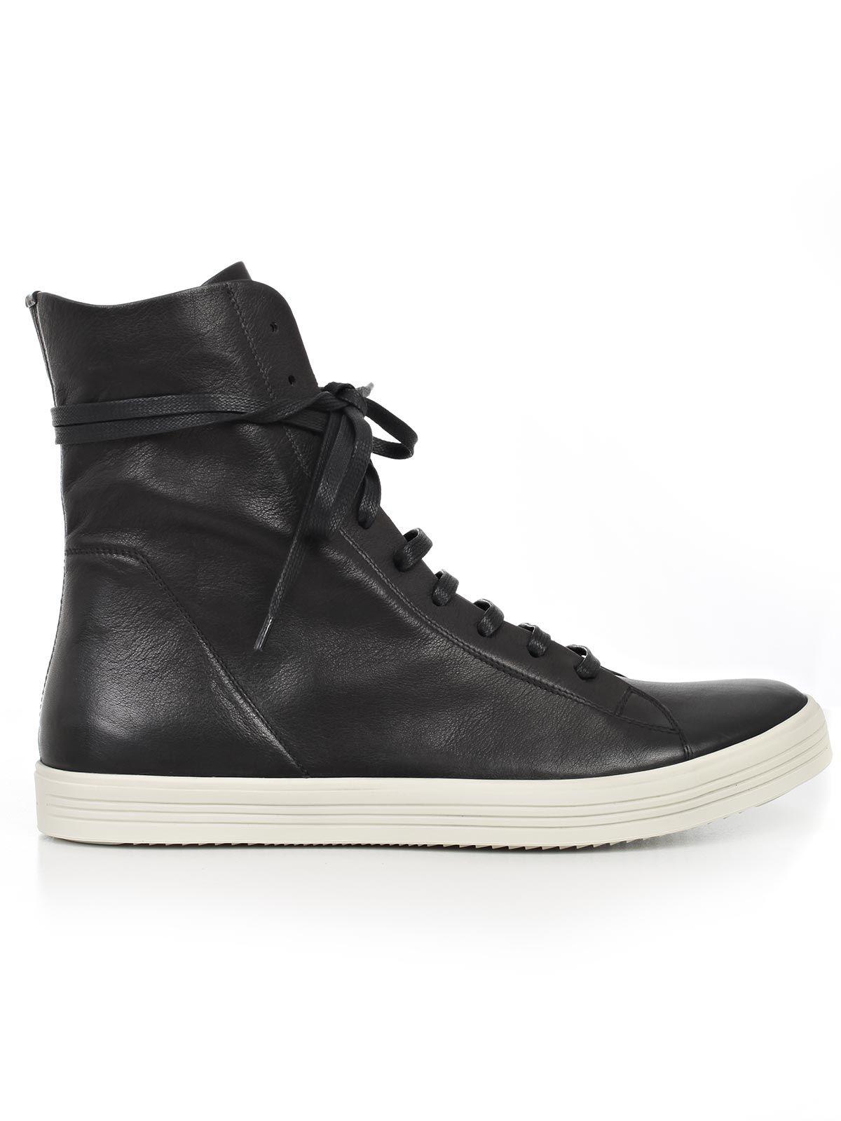 rick owens rick owens sneakers black men 39 s sneakers italist. Black Bedroom Furniture Sets. Home Design Ideas