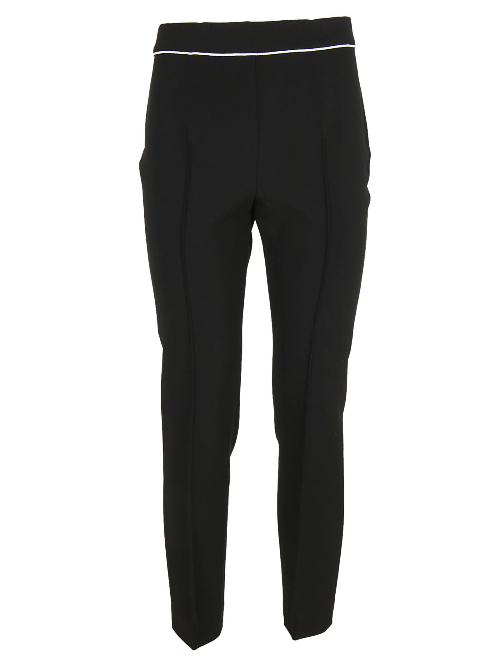 Boutique Moschino Piped Trim Trousers