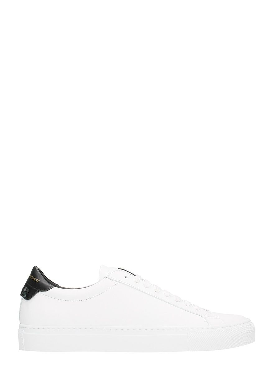 Givenchy Urban Street Low White Leather Sneakers