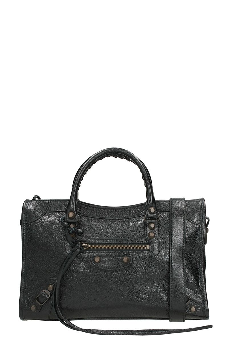 Balenciaga Classic City Arena Small Leather Shoulder