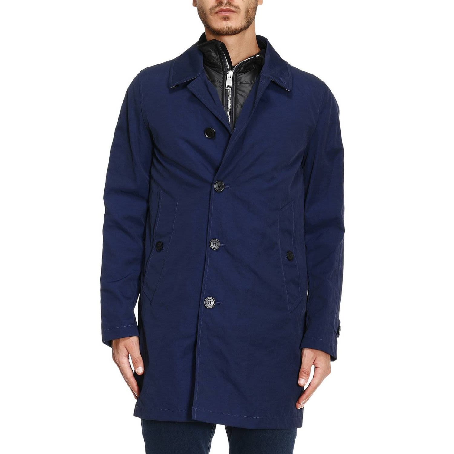 Trench Coat Coat Men Burberry