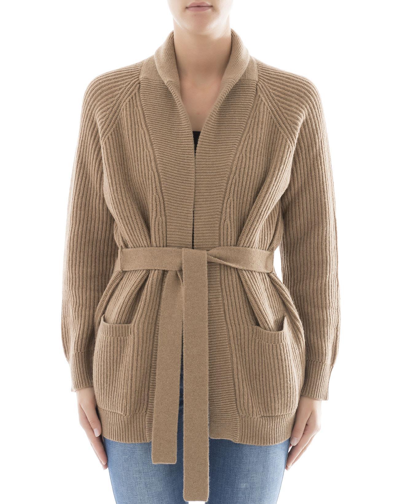 Brown Wool Cardigan