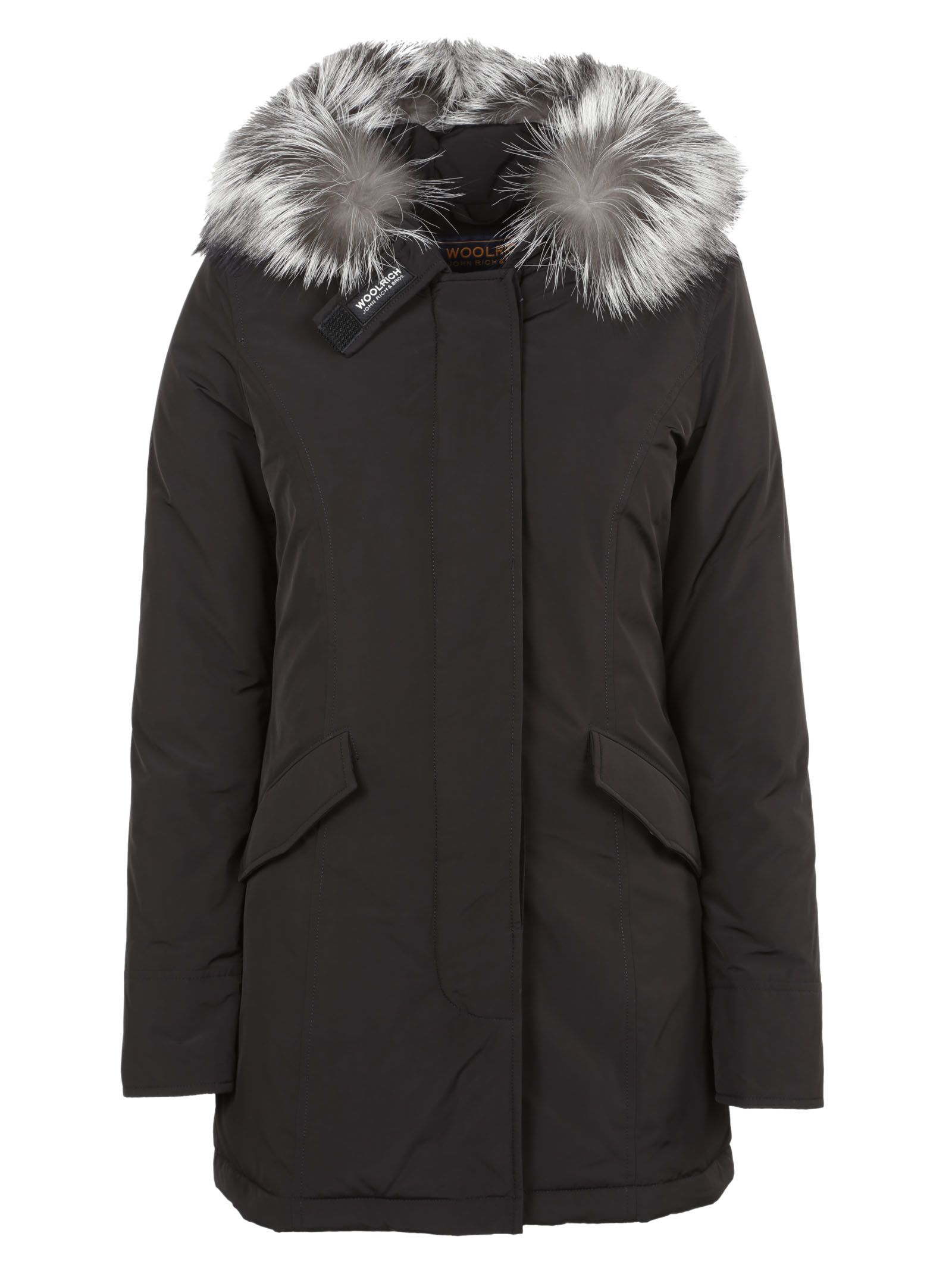 woolrich woolrich luxury arctic parka black women 39 s coats italist. Black Bedroom Furniture Sets. Home Design Ideas