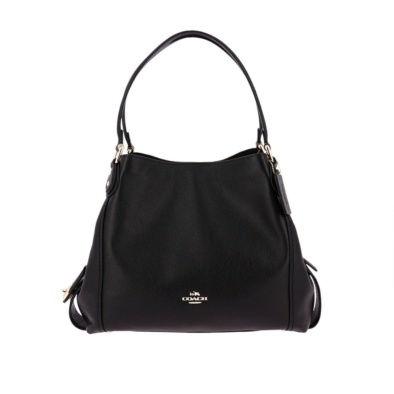 COACH Edie Hobo Bag in Nero