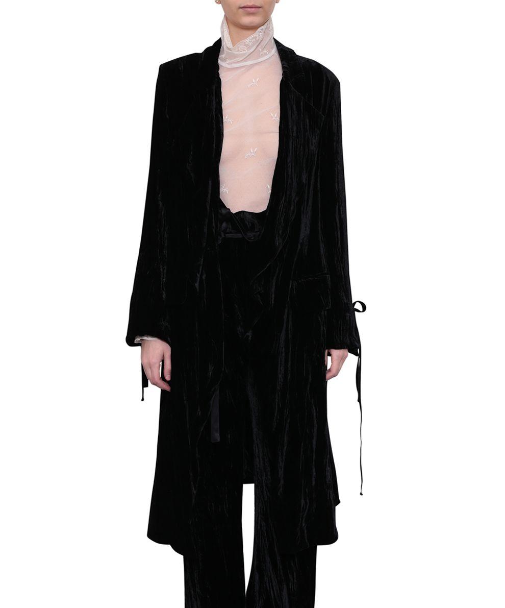 Ann Demeulemeester Velvet Coat