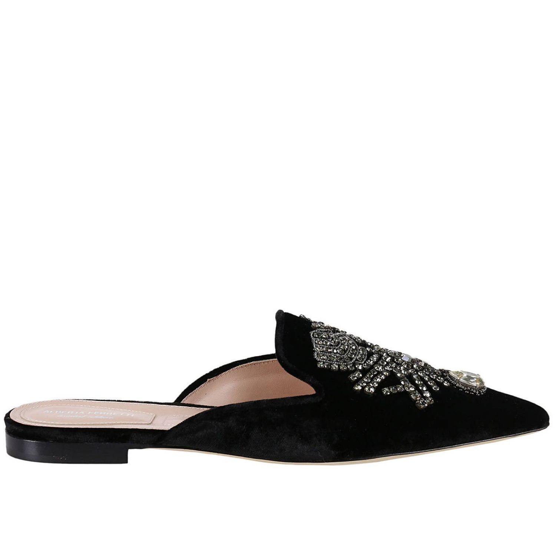 Ballet Flats Shoes Women Alberta Ferretti