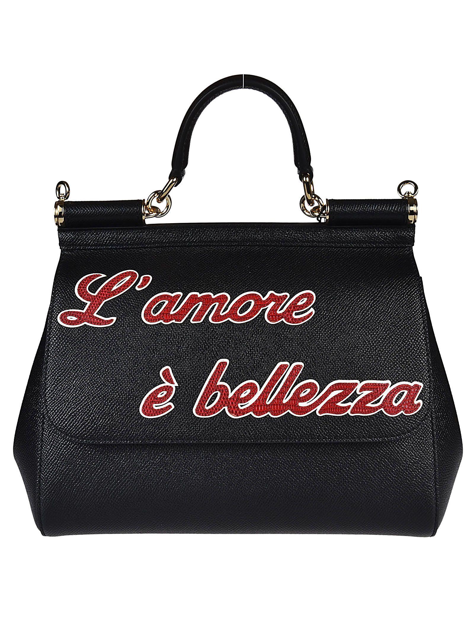 Dolce & Gabbana Lamore Sicily Tote