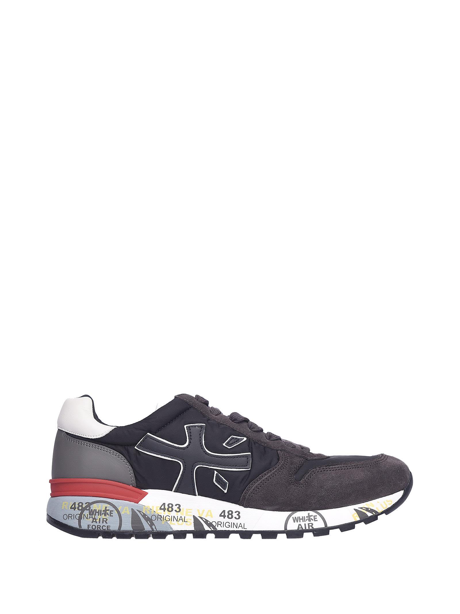 Premiata Mick 2343 Suede Sneakers