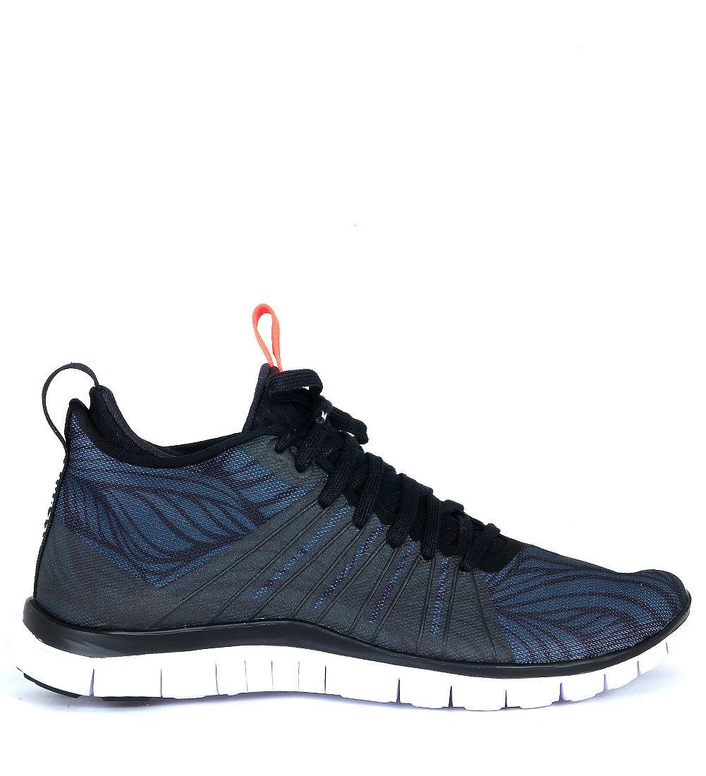 Nike Free Hypervenom 2 Black Canvas Sneaker