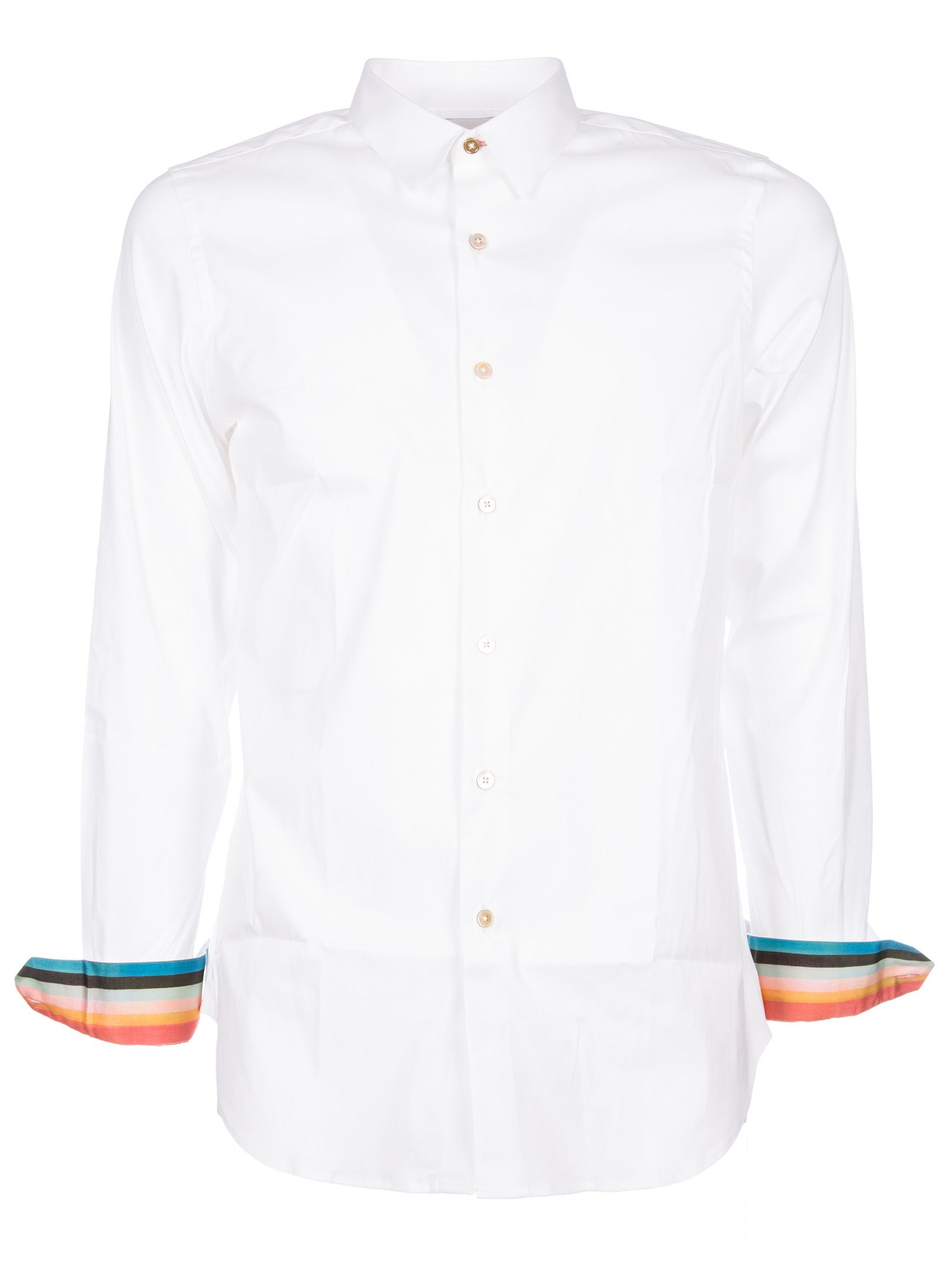 Paul Smith Striped Cuff Shirt