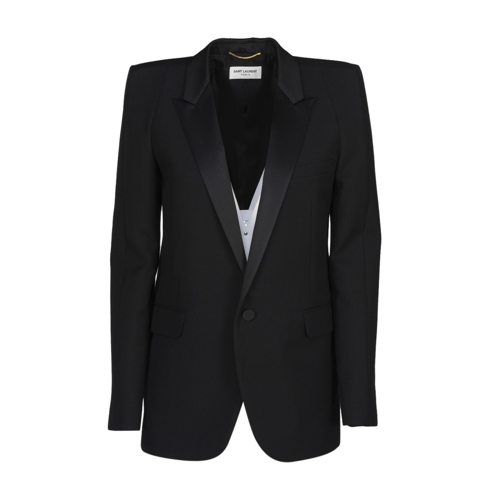 Saint Laurent Square Cut Tux Jacket