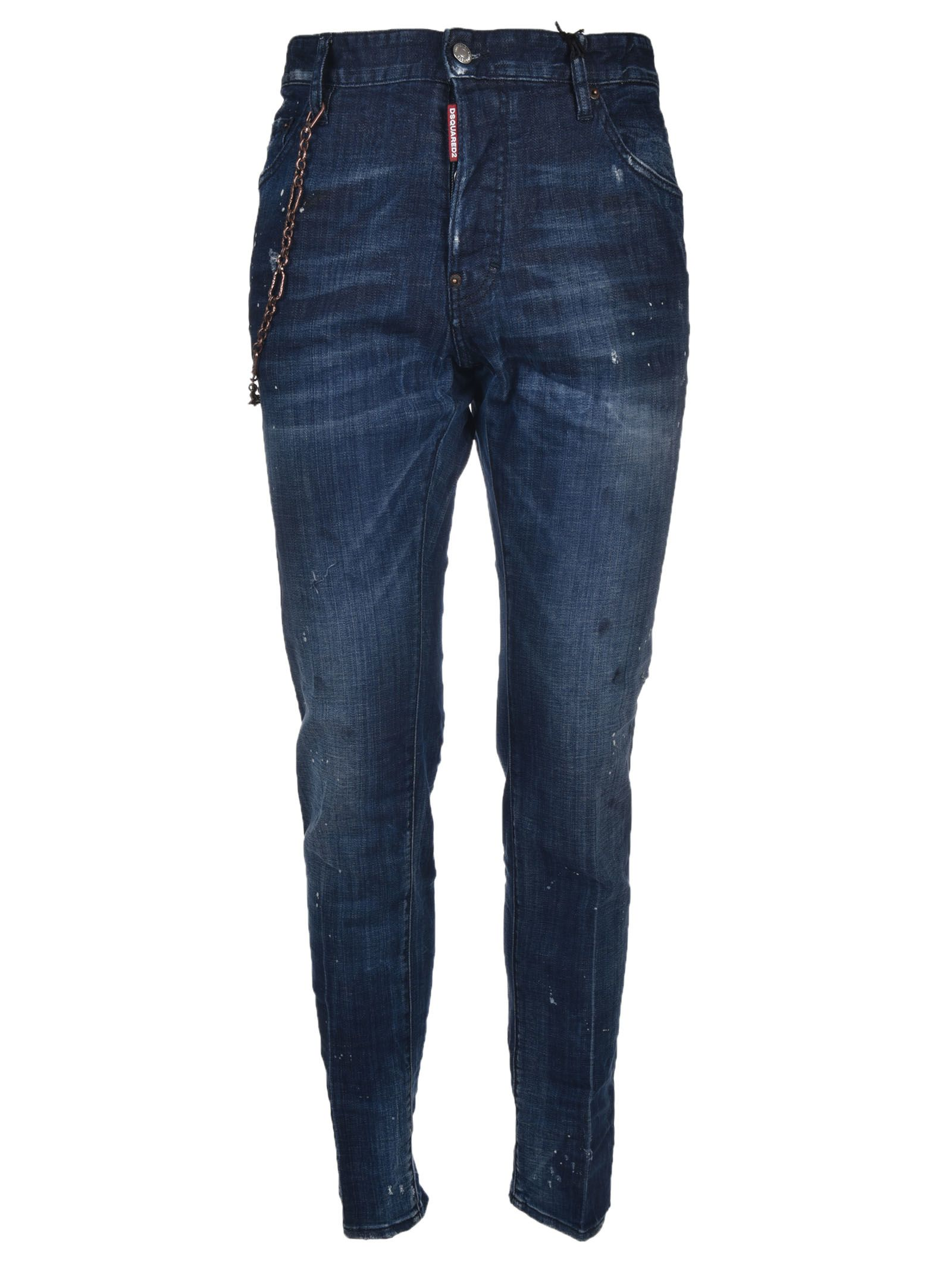 Dsquared2 Chain Strap Cool Guy Jeans