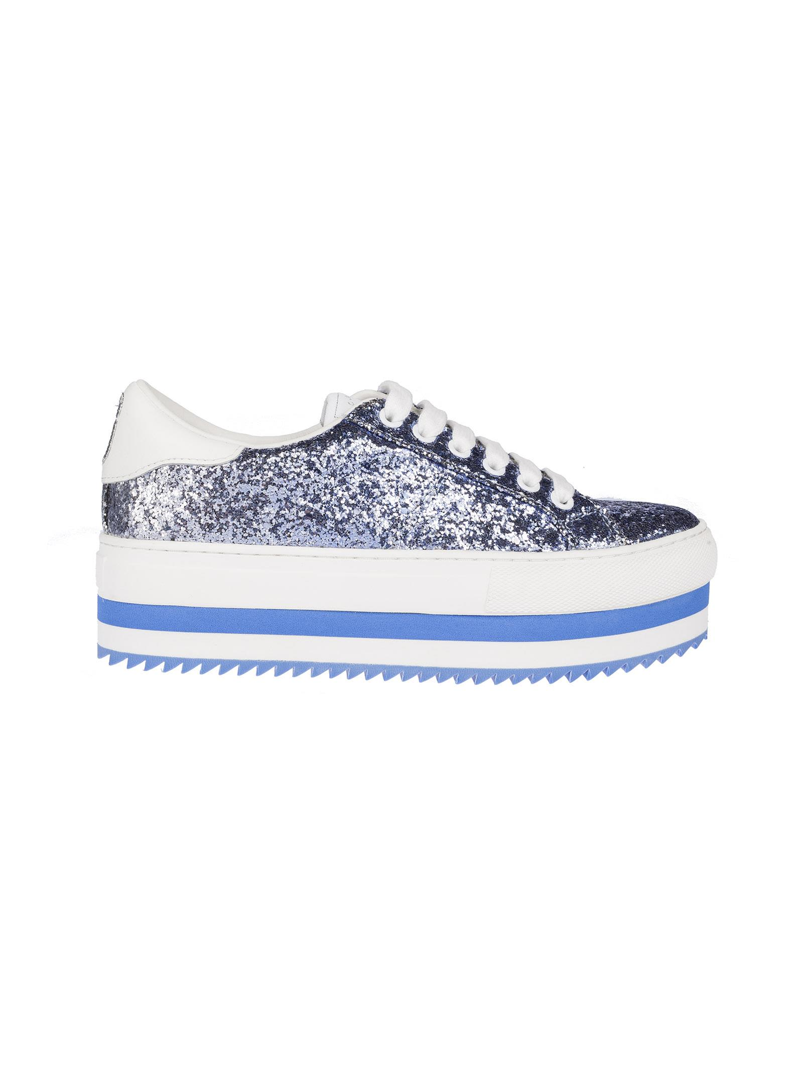 Marc Jacobs Glitter Platform Sneakers