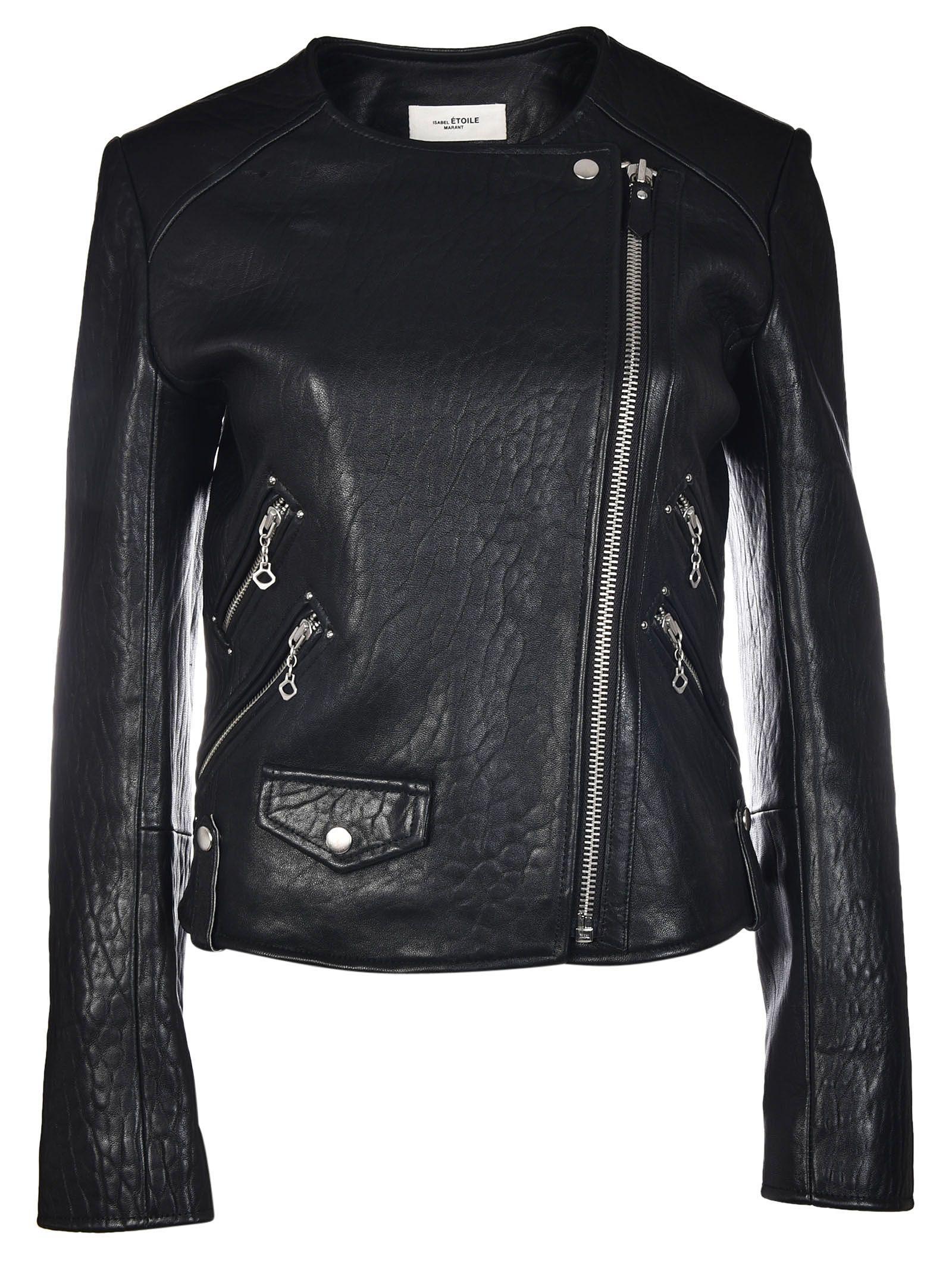 Isabel Marant Etoile Kankara Textured Biker Jacket