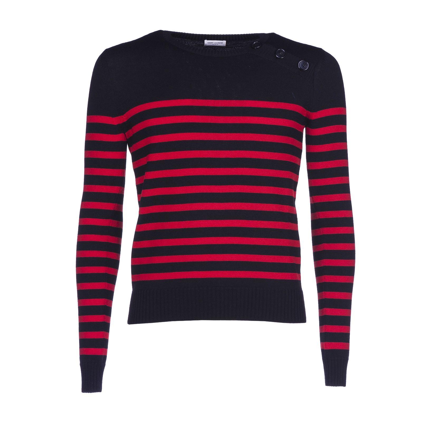 Saint Laurent Paris Stripe Sweater