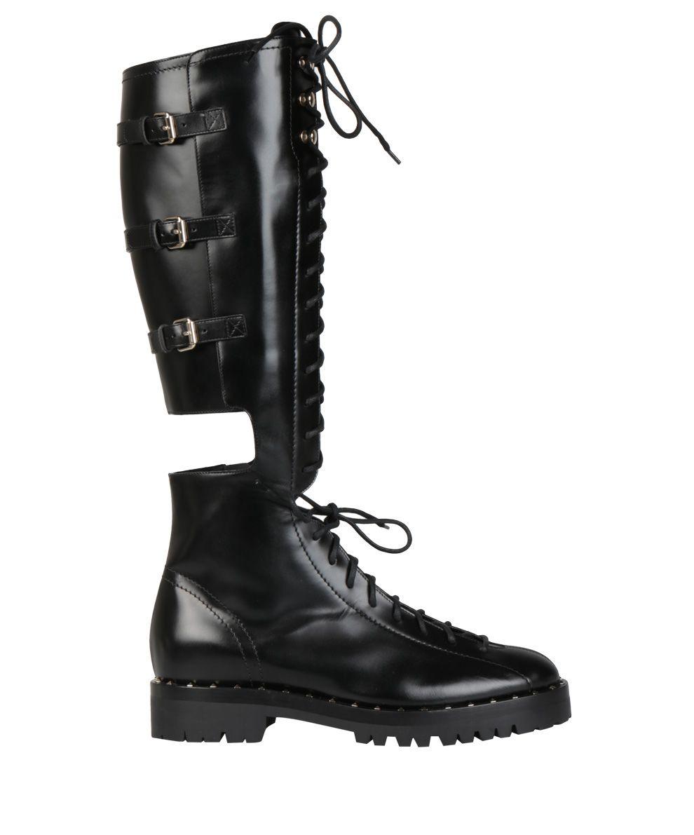 Valentino Garavani Soul Rockstud Leather Boots