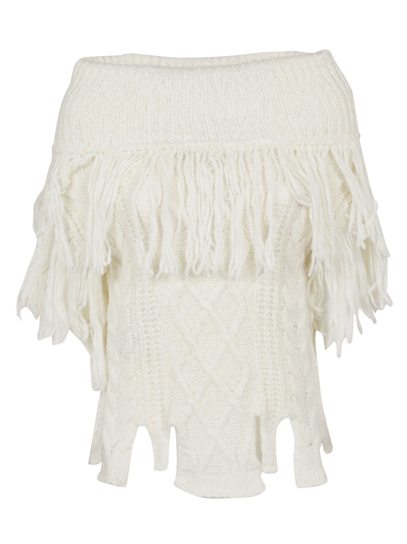 Philosophy Di Lorenzo Serafini Off The Shoulder Knit Top