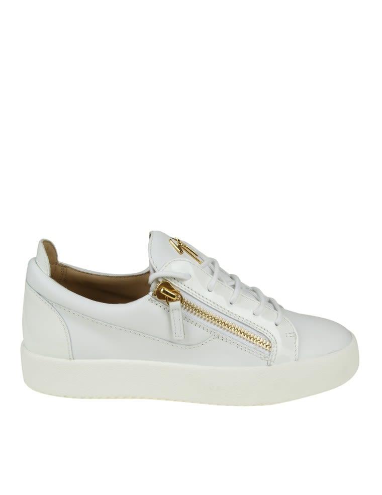 Giuseppe Zanotti Design Sneakers frankie Leather White