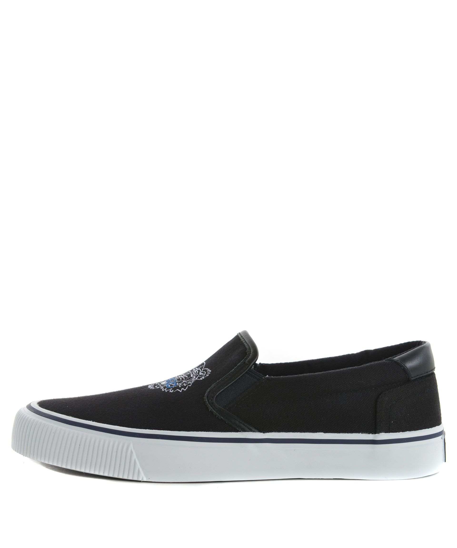 kenzo kenzo tiger slip on sneakers nero s