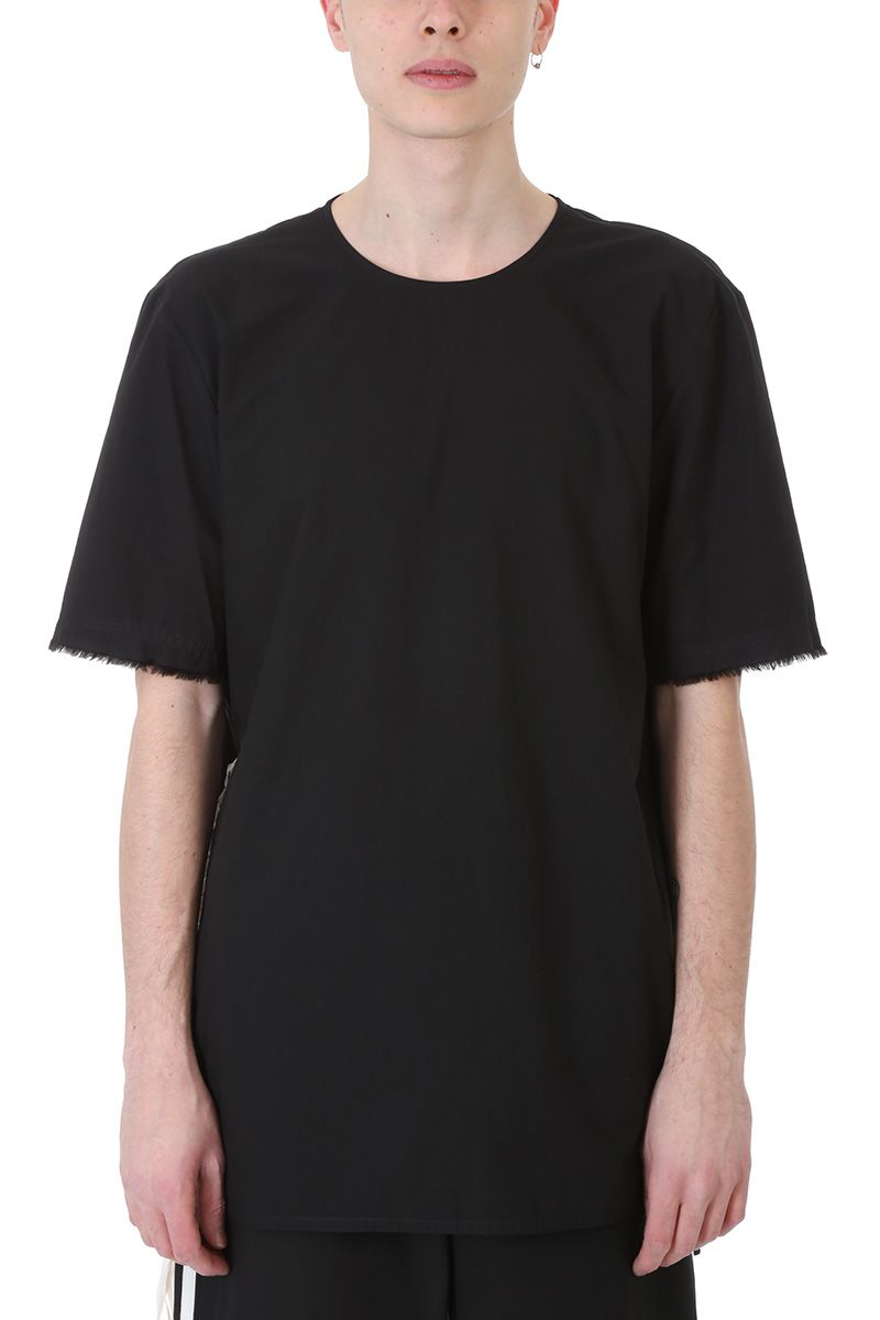 Damir Doma Their Black Poplin Cotton T-shirt