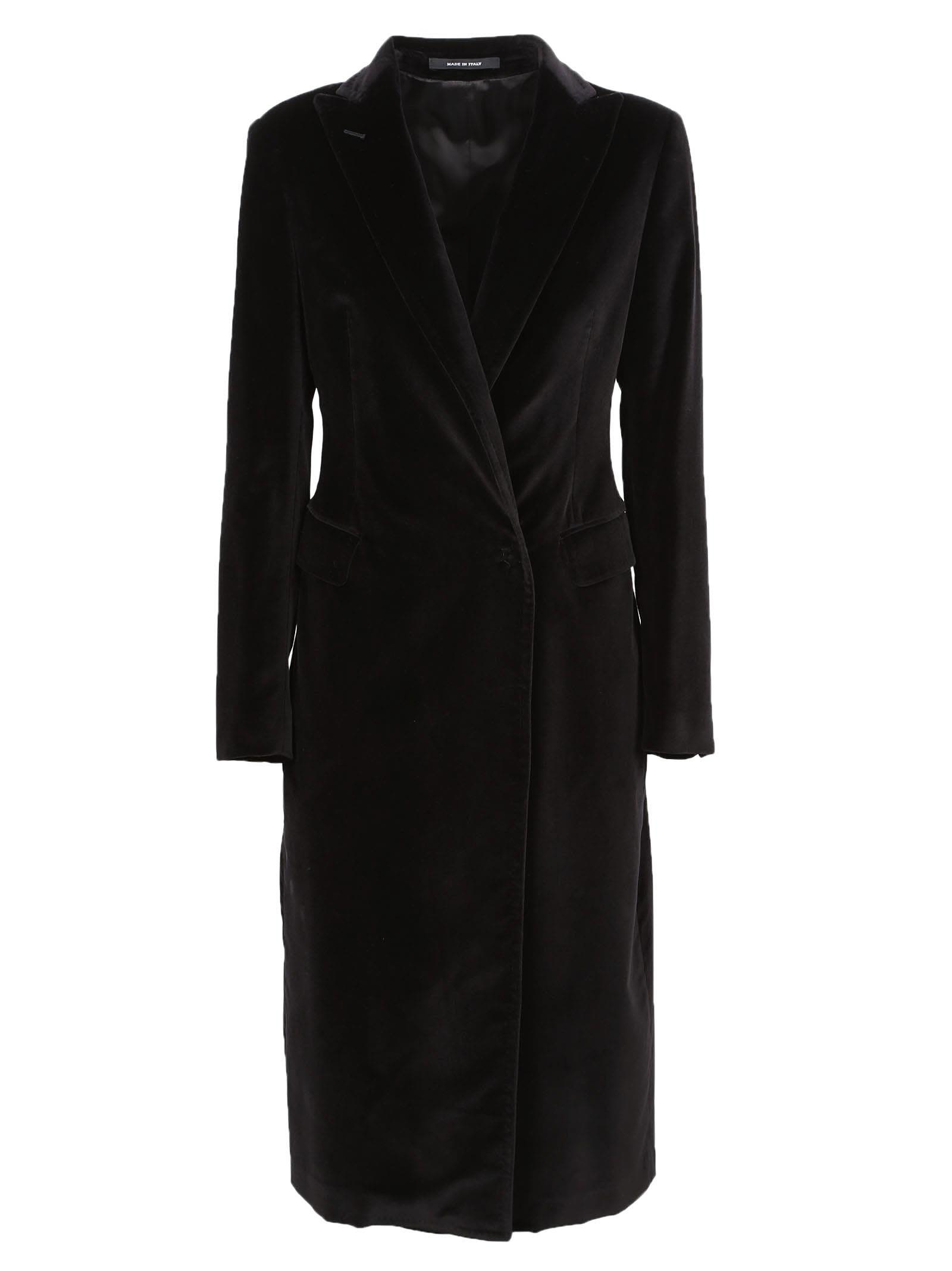 Tagliatore Long Fitted Coat