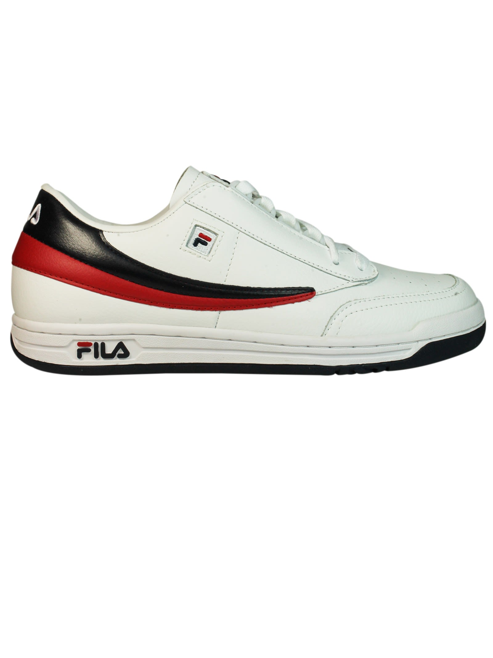 Fila White Navy Original Tennis Sneakers